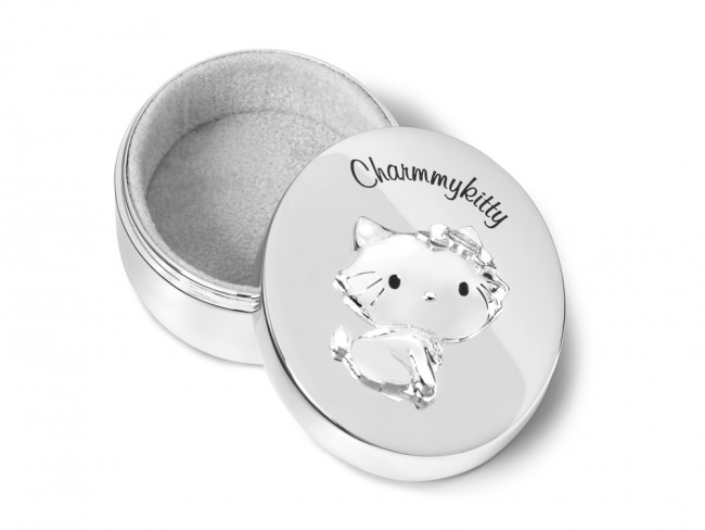 Boîte pour dents Charmmykitty arg/laq