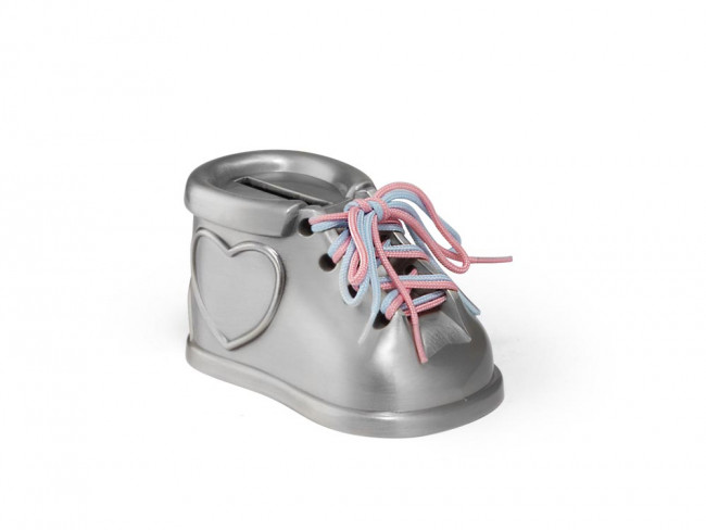 Tirelire Chaussure mat laqué