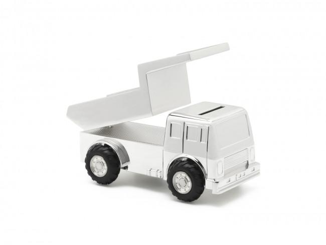 Tirelire Camion arg/laq