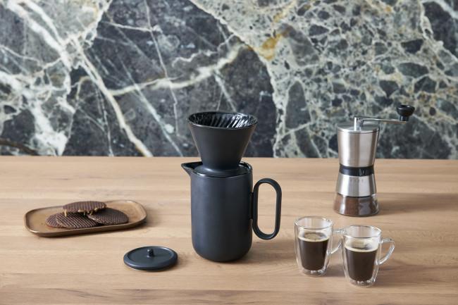 Filtre à café Palermo 4 tasses noir