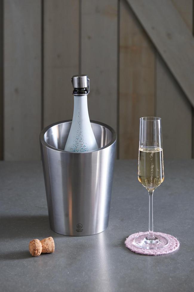 Rafraîchisseur Champagne à double paroi