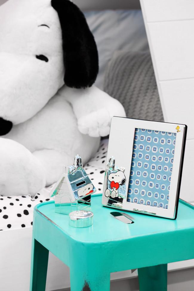 Boîte pour dents Snoopy arg/laq