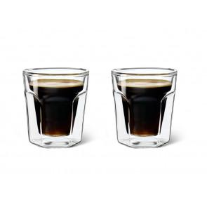 Verre double paroi Espresso, set de 2