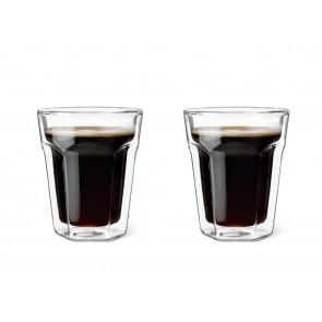 Verre Double Paroi Espresso, 200ml, set de 2