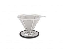 Filtre à café pour 3-4 tasses acier inox
